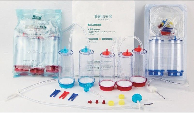 Pharmaceutical Test Sterility Test Kits Sterility Test Canister With Antibiotics