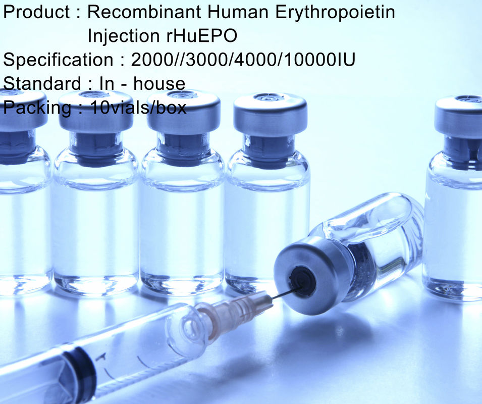 Recombinant Human Erythropoietin Injection rHuEPO HIV Treatment